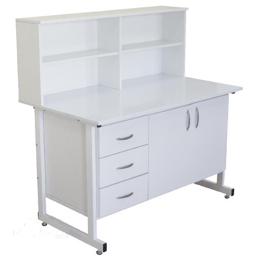 Стол тумба laboratory cupboard table с надстройкой СТН 02 Russia