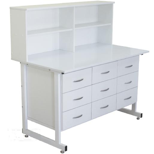 Стол тумба laboratory cupboard table с надстройкой СТН 04 Russia