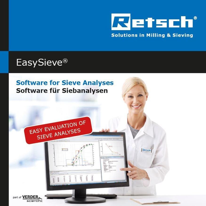 EasySieve Программное обеспечение RETSCH