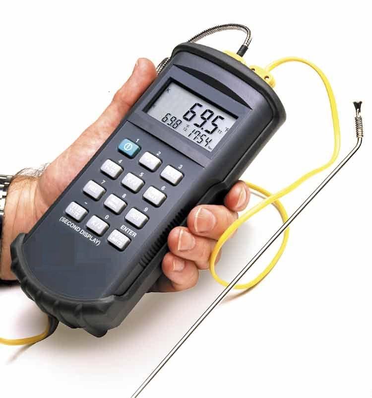 Термометр двухканальный Wahl TM 500 Palmer Instruments Inc