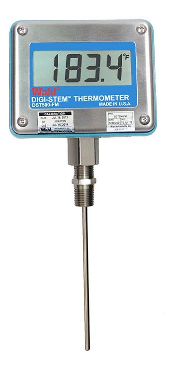 Цифровой термометр RTD динамометр  DST500 FM Palmer