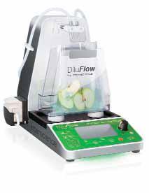 Гравиметрический разбавитель DiluFlow® Elite,1 или 2 насоса interscience