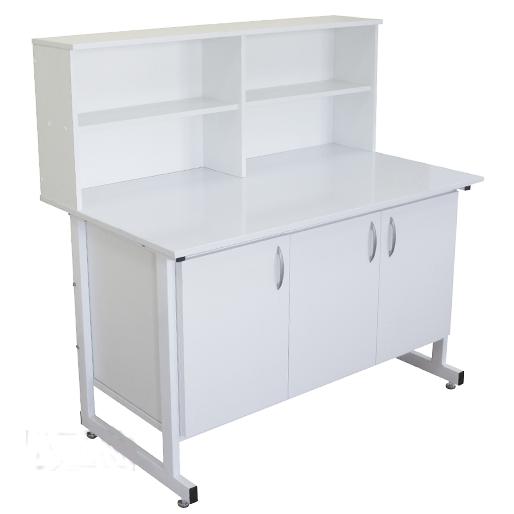 Стол тумба laboratory cupboard table с надстройкой СТН 01 Russia