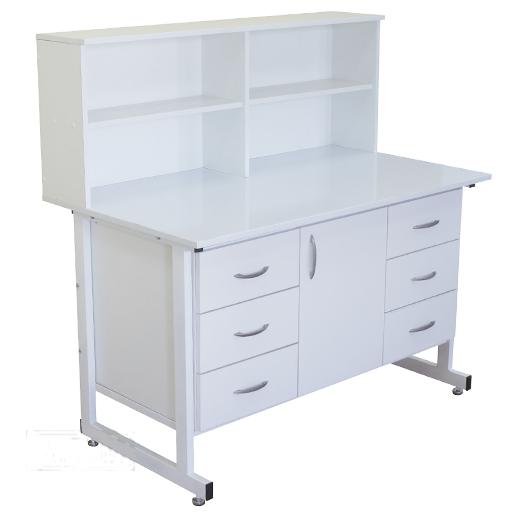 Стол тумба laboratory cupboard table с надстройкой СТН 03 Russia