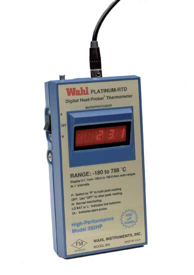 Термометр электронный Wahl 392HP Palmer Instruments Inc