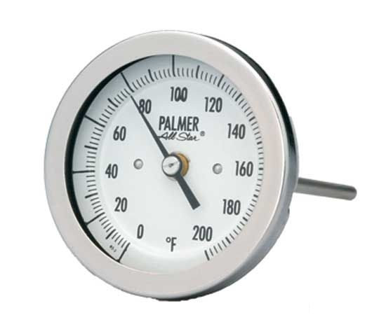 Биметаллические термометры модель 5BC  Palmer