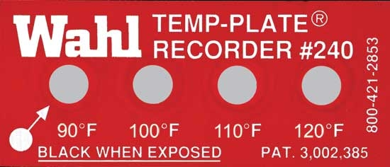 Индикаторы температуры 240 Standart Four-Position Palmer Wahl